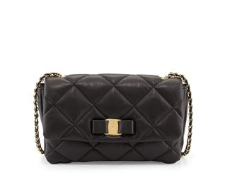 Bagstowear - Gelly - Quilted - Leather Shoulder - Bag - Ferragamo