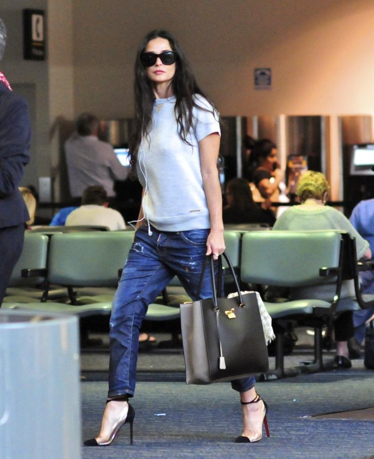 Bagstowear_Demi Moore - LA - Ferragamo - Bag