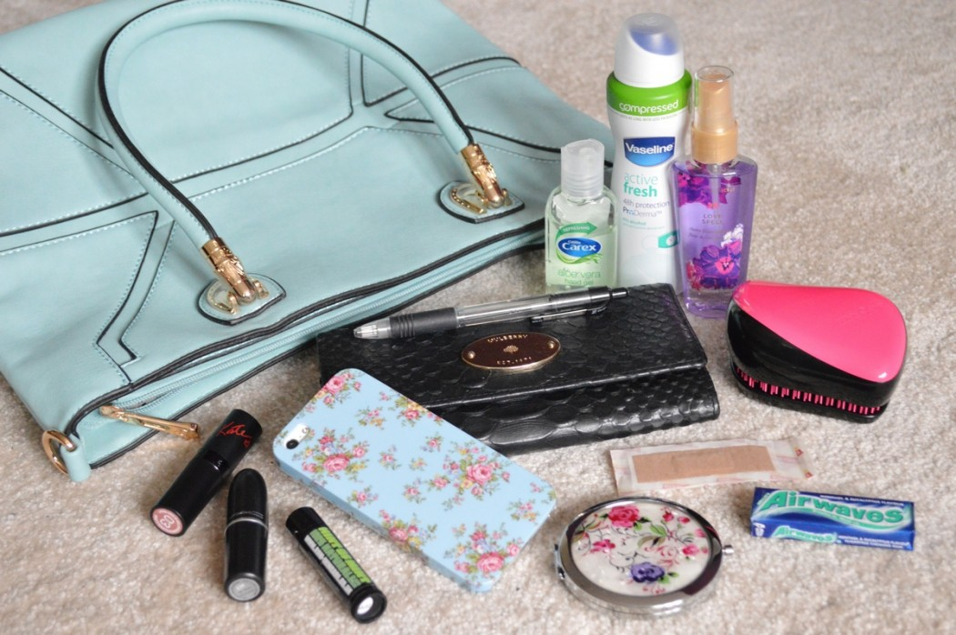 What's the 1 Must-have Item in Your Handbag?