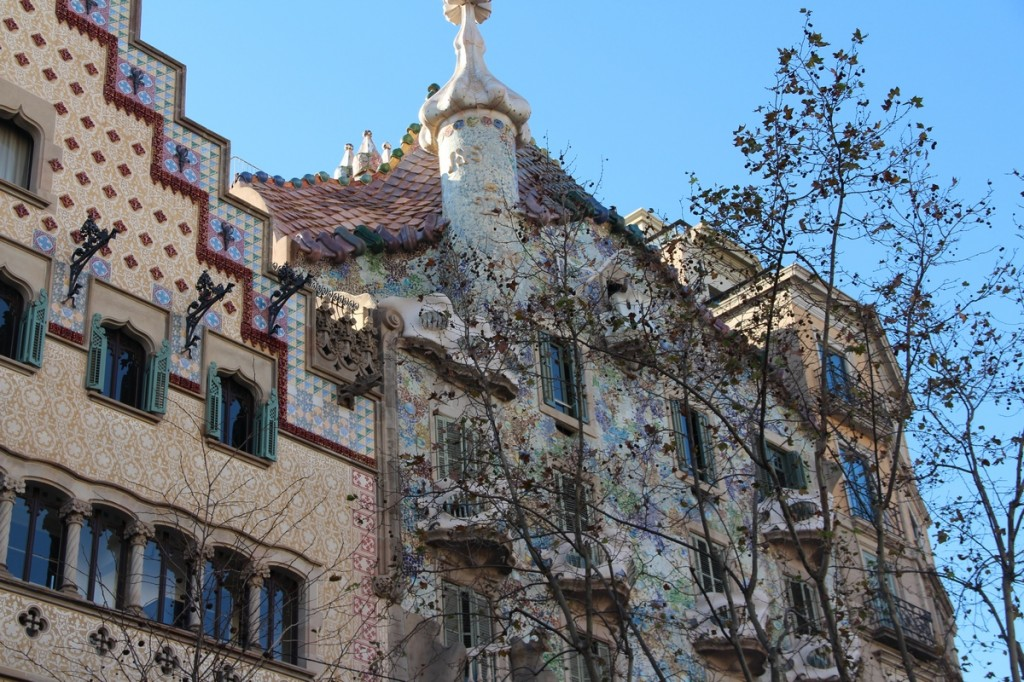 Barcelona - Famous Gaudi Buildings