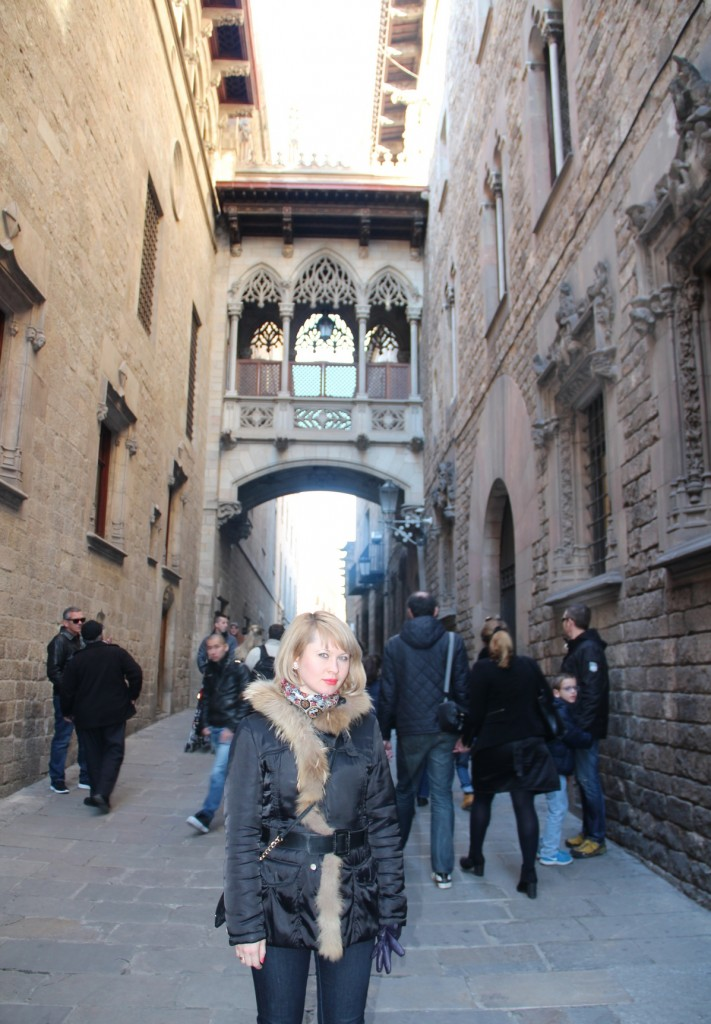 Barcelona - Old City, 2015
