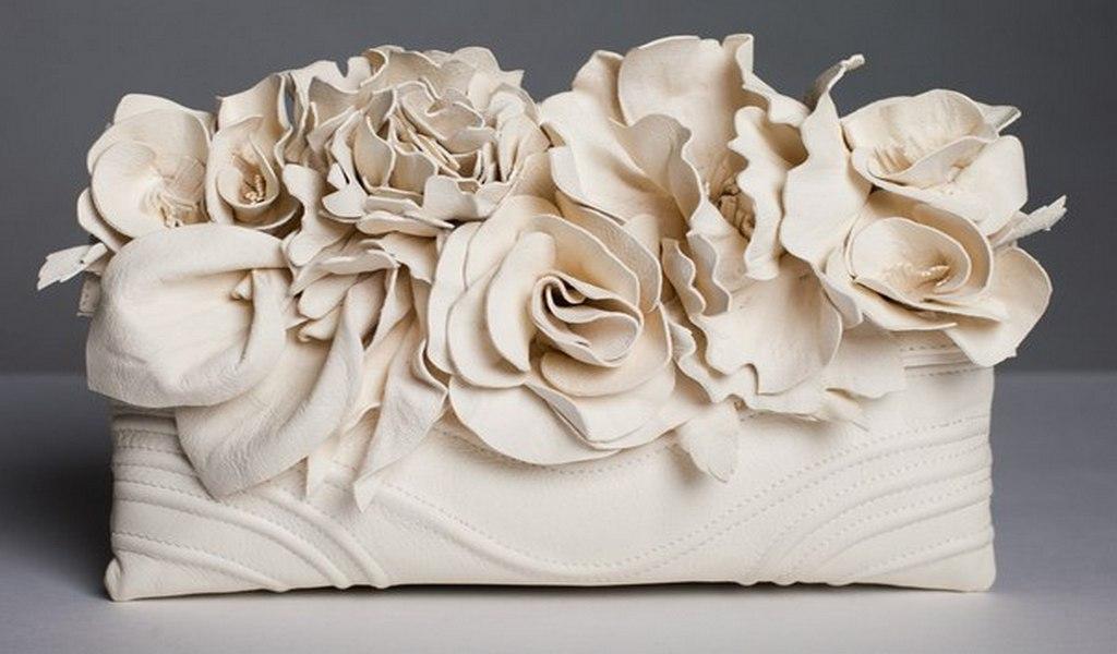 Bagstowear - Asten Atelier - Flower Motives - 7.1 - Leather material - 4 years in making