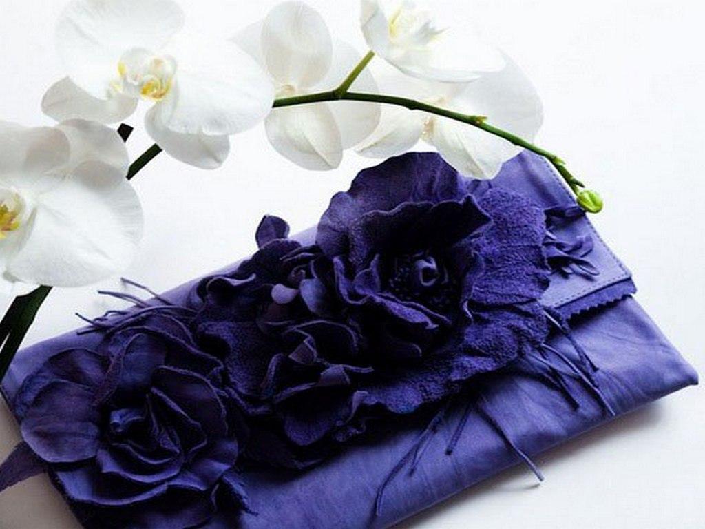 Bagstowear - Asten Atelier - Flower Motives - Dark Blue