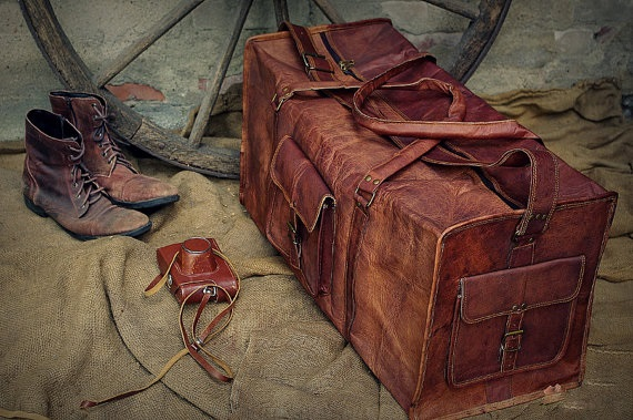 Bagstowear_Leather Duffel Bags Collection