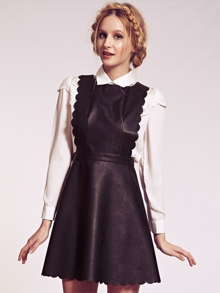 Bagstowear-leather-pinafore-dress