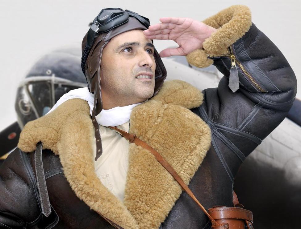 Bagstowear-vintage-sheepskin-bomber-jacket