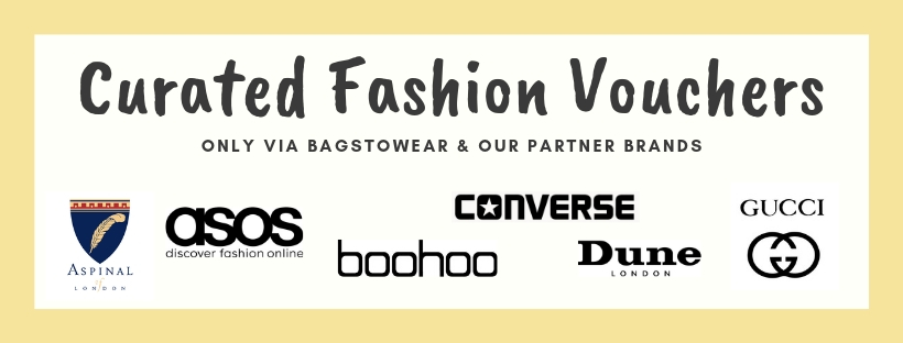 Curated Fashion Vouchers via Bagstowear