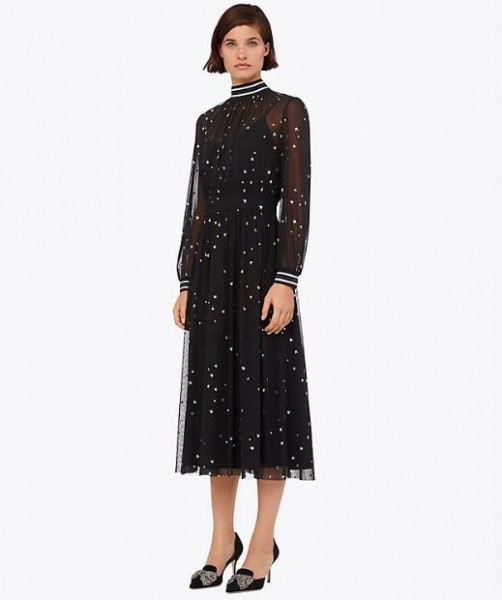 Tory Burch Mesh Star Dress via Bagstowear