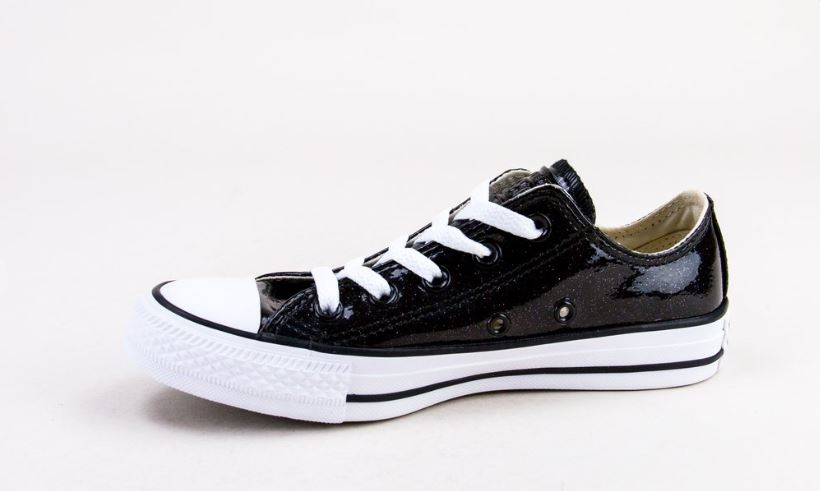 Black & White Converse Trainers