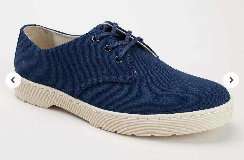 Dr Martens Navy Shoes | Bagstowear