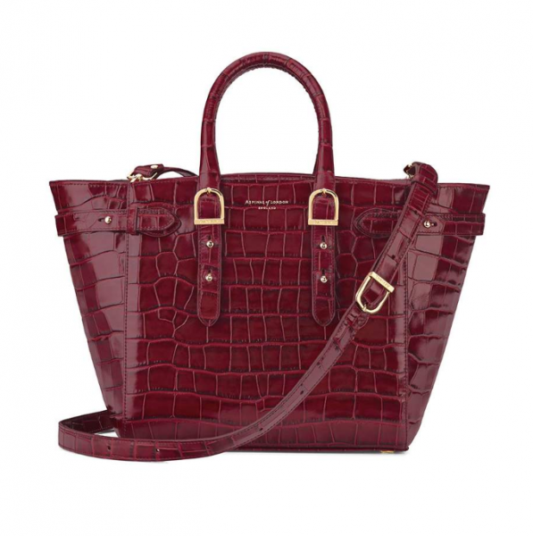 The Midi Maryleborne Tech Tote Aspinal of London | Bagstowear