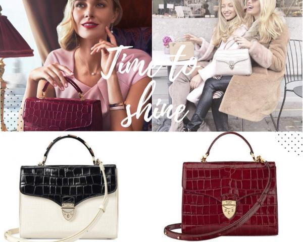 Aspinal Mayfair Bag via Bagstowear