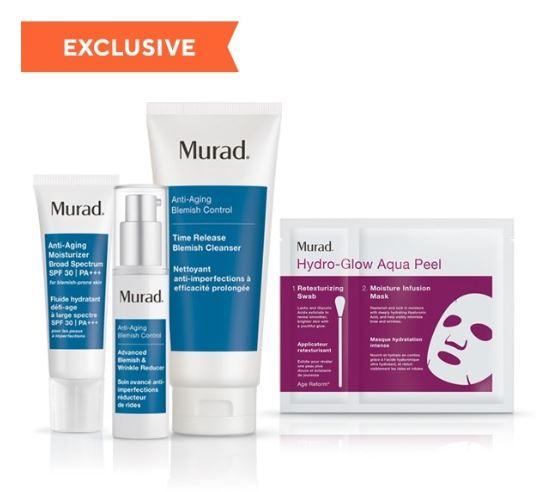 Anti-ageing Murad Skincare Set | Bagstowear