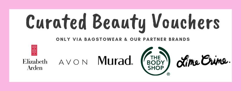 Curated Beauty Vouchers via Bagstowear